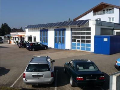 Autohaus Geisel, Werkstatt