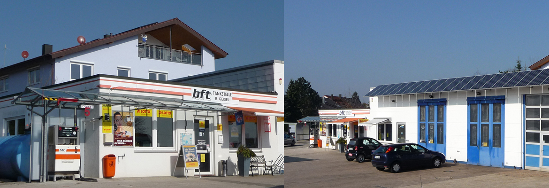 Autohaus Geisel, Tankstelle, Werkstatt