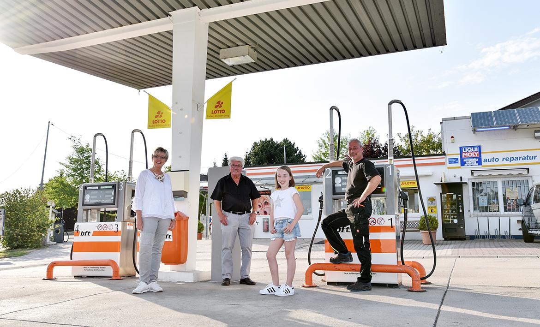 Geisel Autohaus, Tankstelle